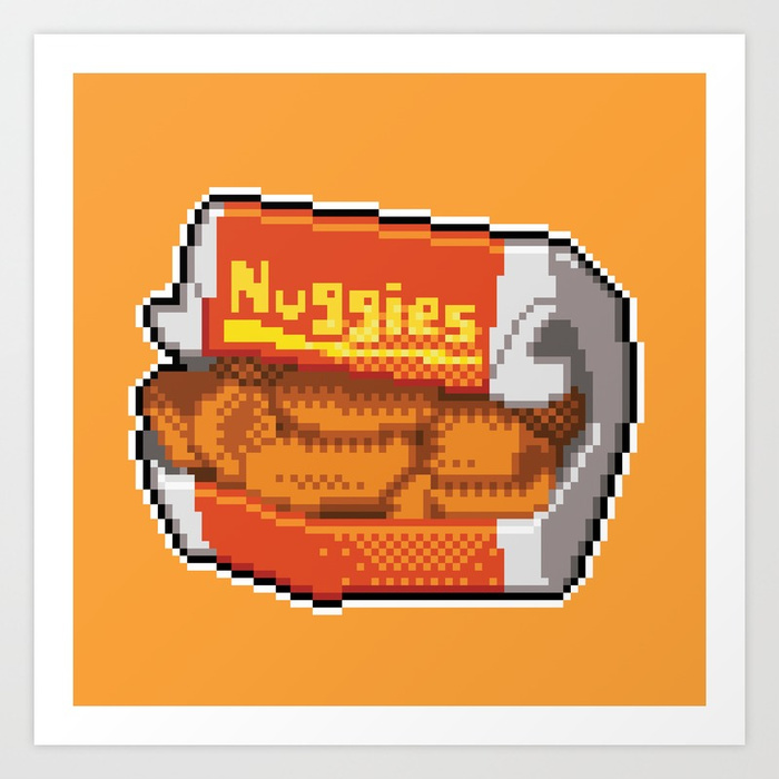 Pixel Chicken Nuggets